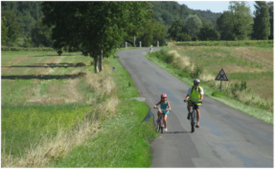 Cycling in the Loire for Families.