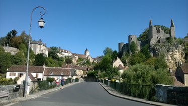 Many beautiful villages in the Indre-et-Loire.